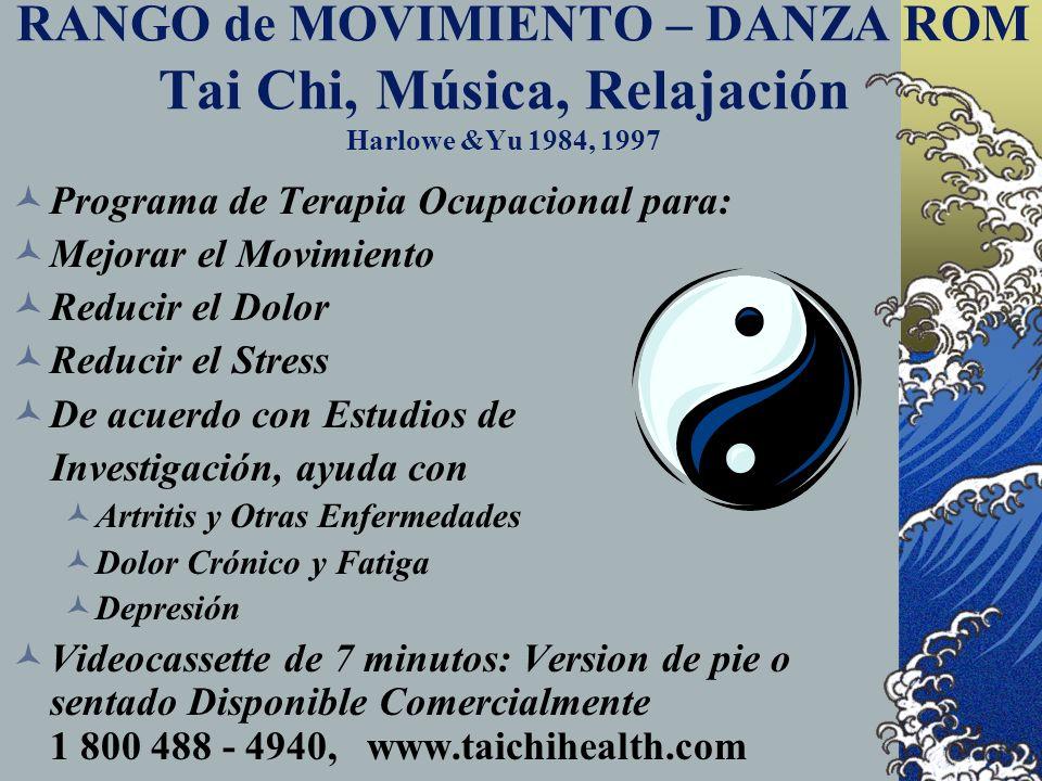 TAI CHI : Una Arte Marcial Suave H allazgos Investigativos: M ejora el Balance D isminuye las Caídas M ejora el Movimiento R educe la Presión Arterial