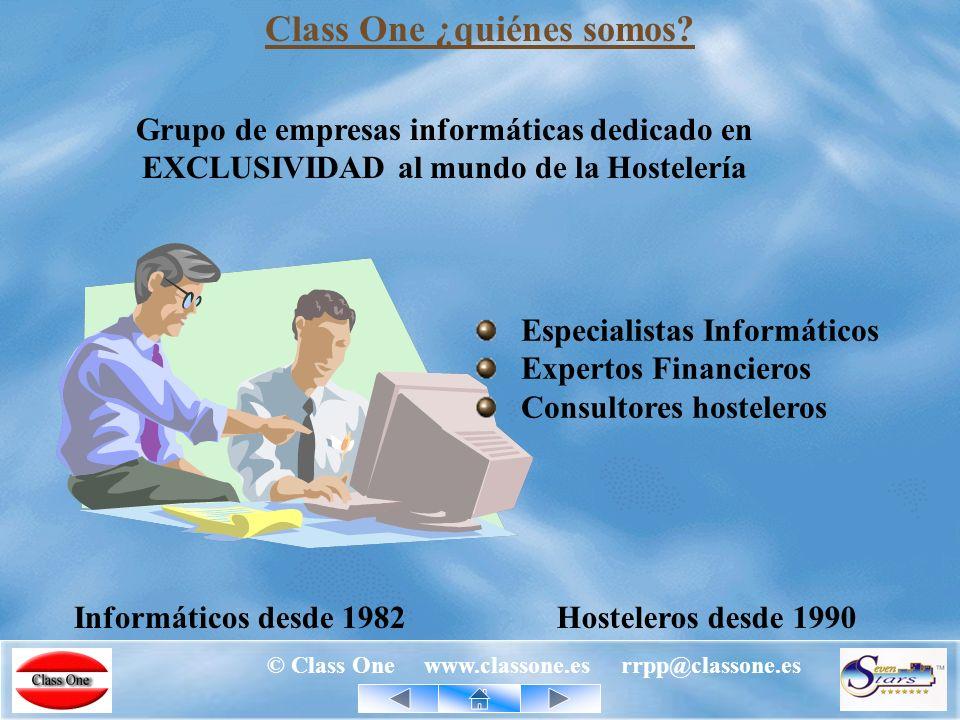 © Class One www.classone.es rrpp@classone.es Generando Confianza