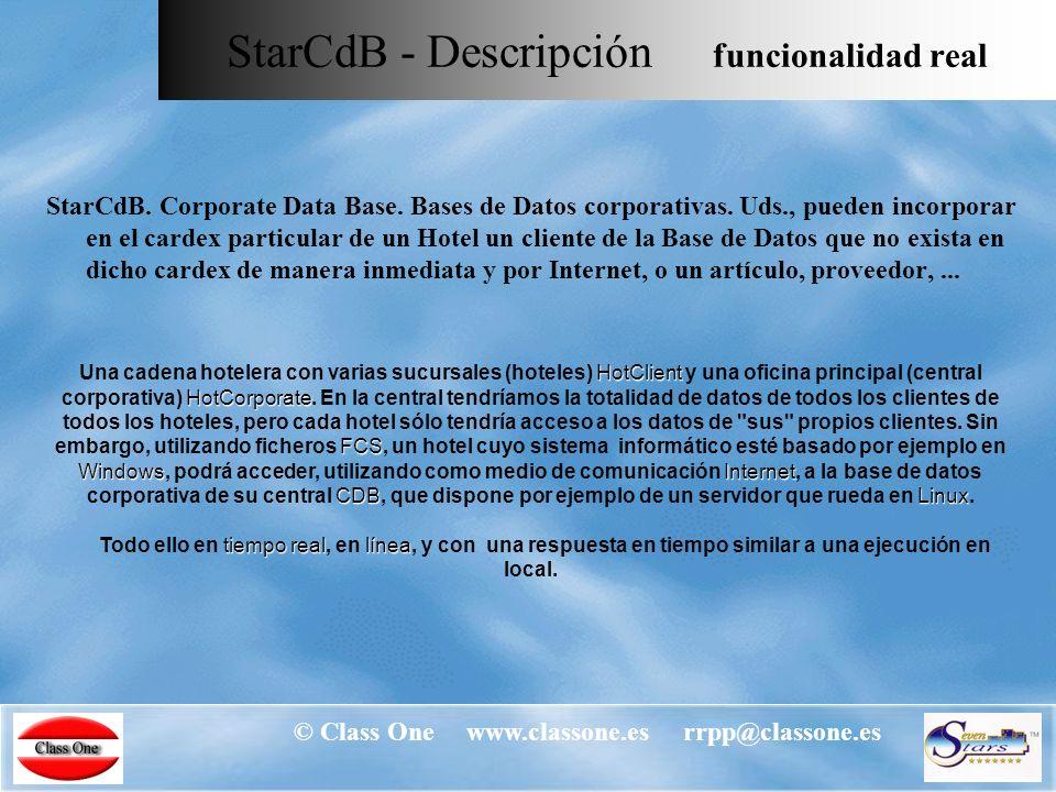 © Class One www.classone.es rrpp@classone.es Envío y recepción de información Análisis de la actividad.