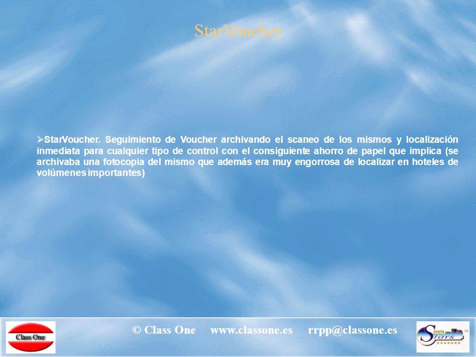 © Class One www.classone.es rrpp@classone.es StarCard StarCard.
