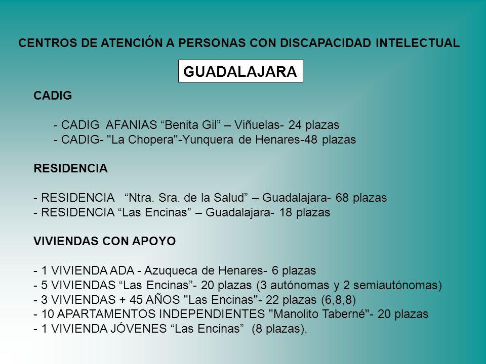 CADIG - CADIG AFANIAS Benita Gil – Viñuelas- 24 plazas - CADIG-