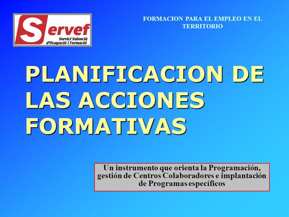 FORMACION PARA EL EMPLEO EN EL TERRITORIO Partimos de la Detección de necesidades formativas en el ámbito comarcal.