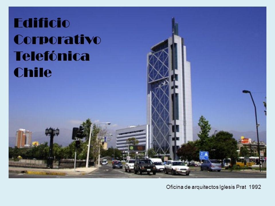 Oficina de arquitectos Iglesis Prat 1992 Edificio Corporativo Telefónica Chile
