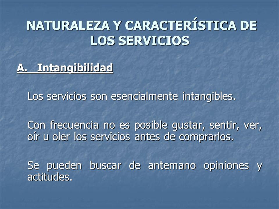 SERVICIO Un servicio es todo acto o función que una parte puede ofrecer a otra, que es esencialmente intangible y no da como resultado ninguna propiedad.