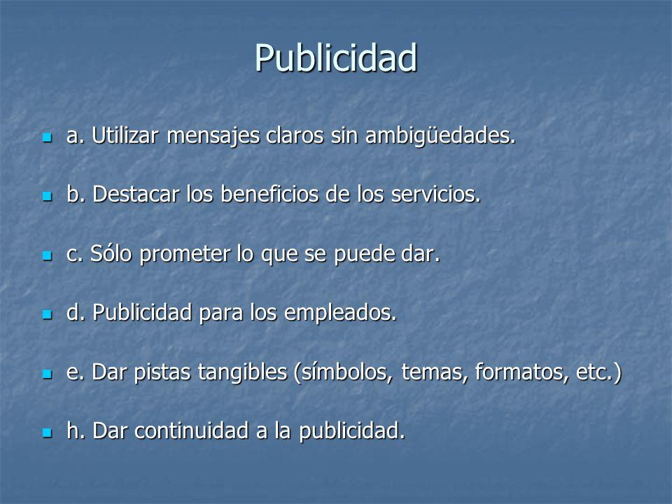 Los propósitos generales de la promoción en el marketing de servicios son: A) Crear conciencia e interés en el servicio y en la organización de servicio, A) Crear conciencia e interés en el servicio y en la organización de servicio, B) Diferenciar la oferta de servicio de la competencia, B) Diferenciar la oferta de servicio de la competencia, C) Comunicar y representar los beneficios de los servicios disponibles C) Comunicar y representar los beneficios de los servicios disponibles D) Persuadir a los clientes para que compren o usen el servicio.