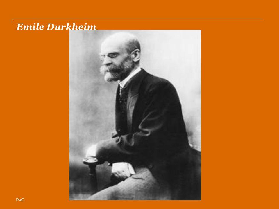 PwC Emile Durkheim