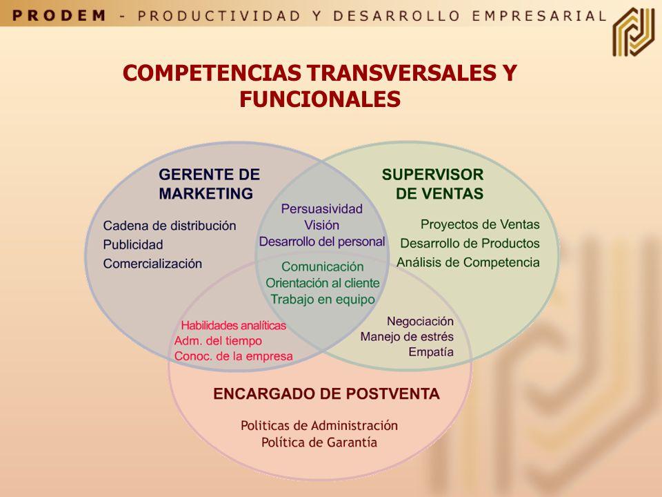 COMPETENCIAS ESPECIFICAS (TECNICAS) CONOCIMIENTOS Y DESTREZAS LIGADAS A LAS FAMILIAS OCUPACIONALES. DESARROLLO DE HABILIDADES PROPIAS Y CARACTERISTICA
