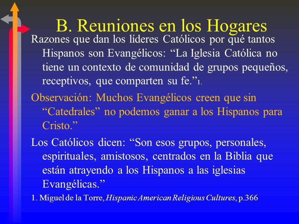 … Visita a su hogar de un miembro de la iglesia Hispanic Americans If a local congregation or faith community wanted to reach out and inform you of wh