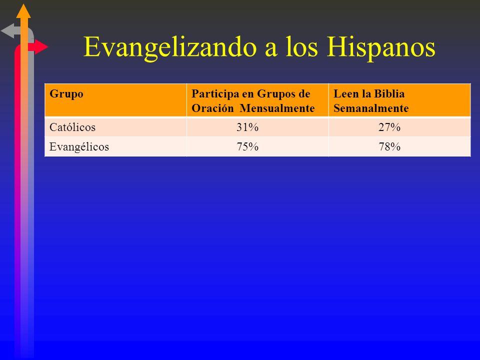 Evangelizando a los Hispanos II. Estrategias Eficaces C. Utilizando Estudios Bíblicos (Compañerismos) Un Recurso: Daniel R. Sánchez, Evangelio en el R