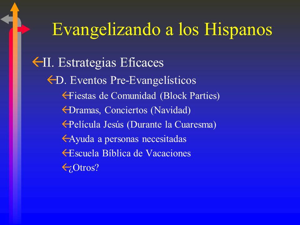Evangelizando a los Hispanos GrupoParticipa en Grupos de Oración Mensualmente Leen la Biblia Semanalmente Católicos 31% 27% Evangélicos 75% 78%