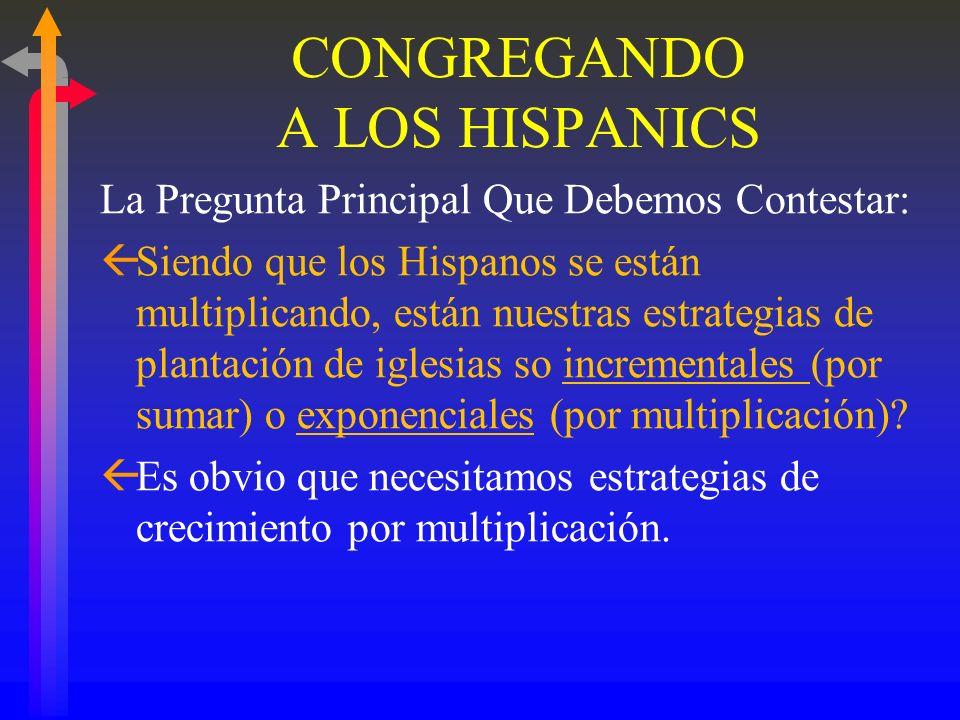 Changing Faiths: Latino and Religious the Transformation of American Religion ßLa adoración orientada al grupo étnico combinada con el crecimiento ráp