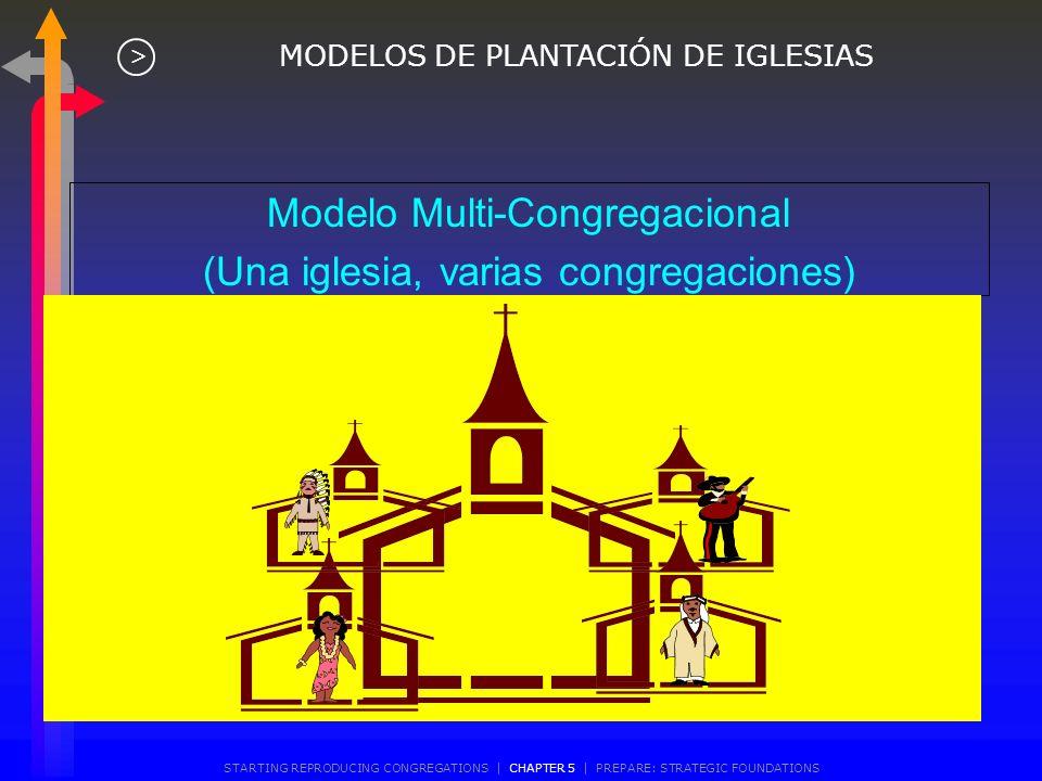 Modelo de Patrocinio Proyecto de Renacimiento (Una iglesia establecida ayuda a una iglesia moribunda a renacer en una congregación de otra cultura) MO