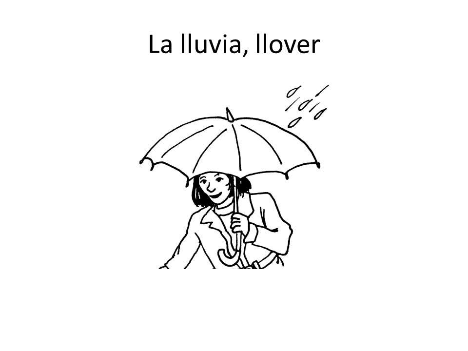 La lluvia, llover
