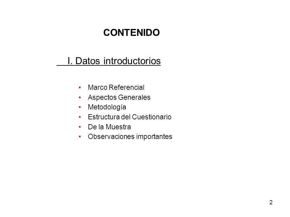 2 CONTENIDO I.