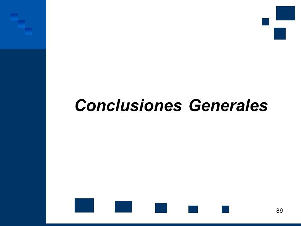 89 Conclusiones Generales