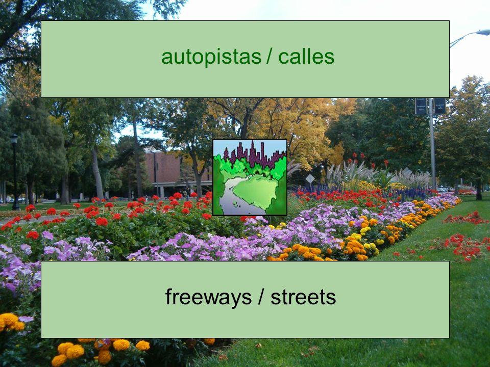 autopistas / calles