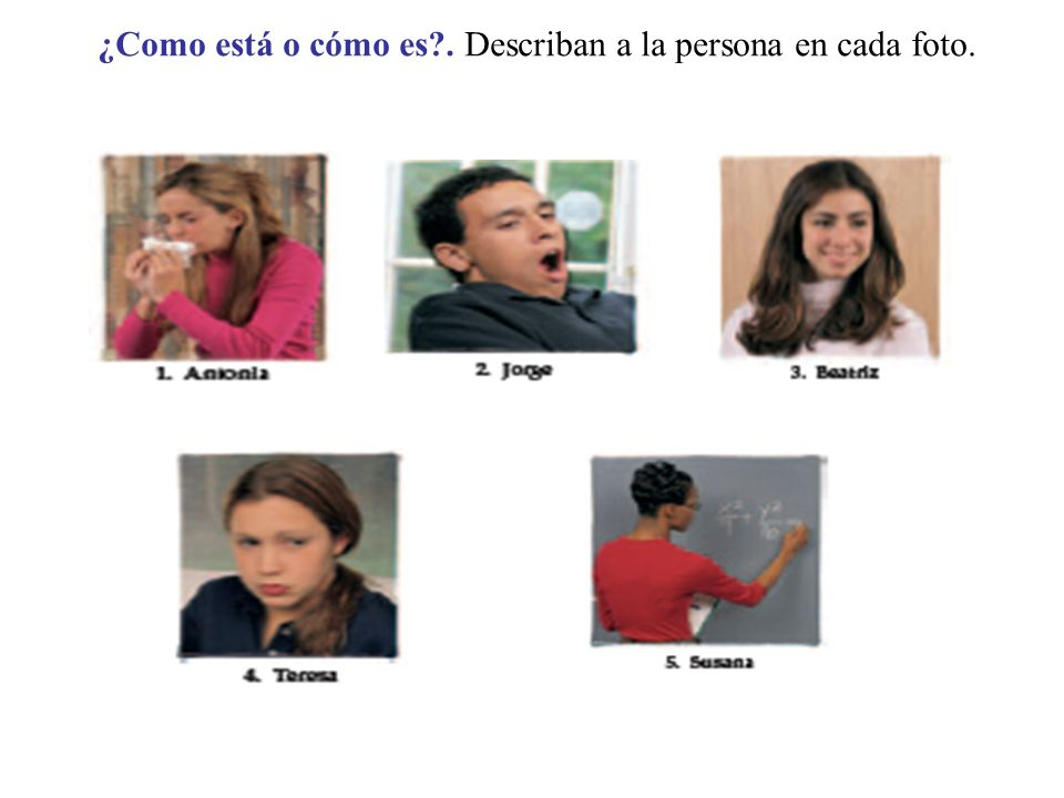 Ser y estar Characteristics and conditions 1.In Spanish there are two verbs that mean to be. They are ser and estar These verbs have very distinct use