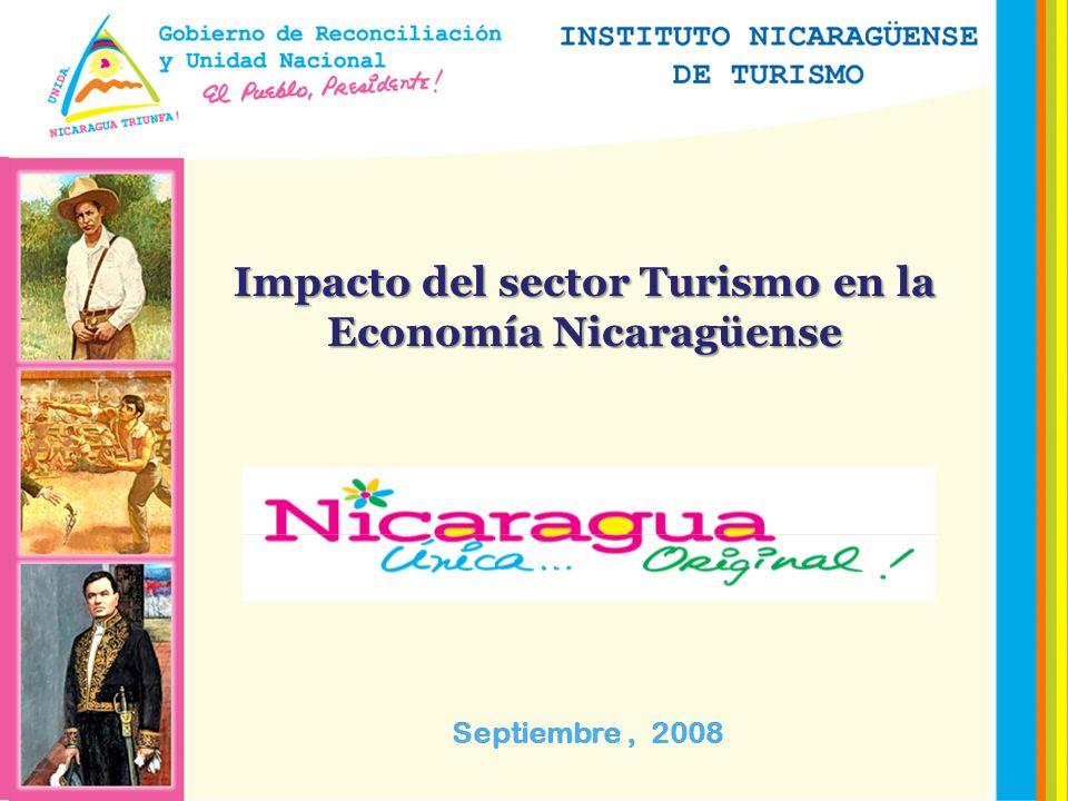Impacto del sector Turismo en la Economía Nicaragüense Septiembre, 2008