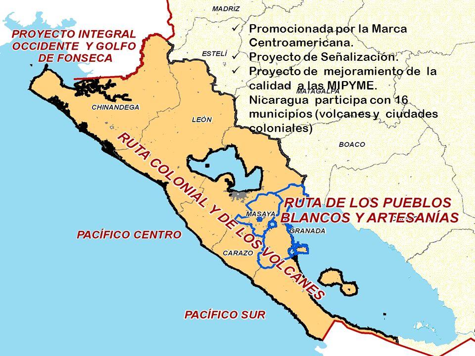 Ruta Colonial y los Volcanes Promocionada por la Marca Centroamericana.