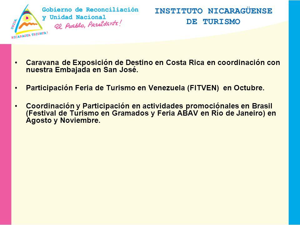 Caravana de Exposición de Destino en Costa Rica en coordinación con nuestra Embajada en San José.