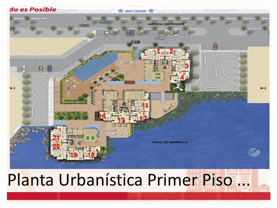 Planta Urbanística... 12 3 4 11 12 13 14 1819 20 21 5 6 7 109 8 1615 17