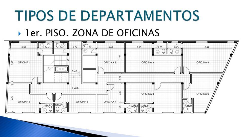 1er. PISO. ZONA DE OFICINAS
