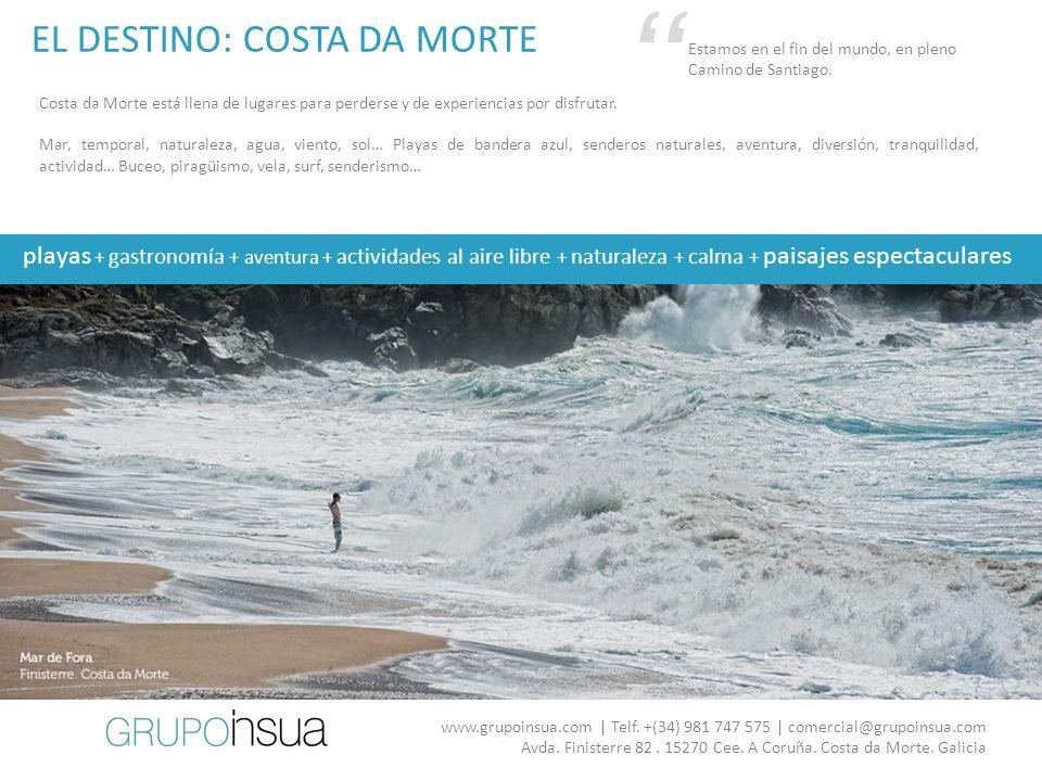 HOTEL INSUA 60 2 personas El hotel más grande de Costa da Morte.