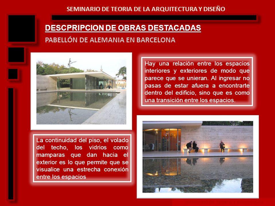 SEMINARIO DE TEORIA Y DISEÑO ARQ SEMINARIO DE TEORIA DE LA ARQUITECTURA Y DISEÑO EDIFICIO SEAGRAM