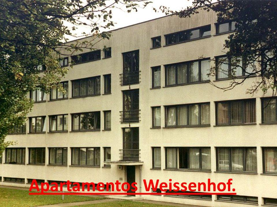 Apartamentos Weissenhof.