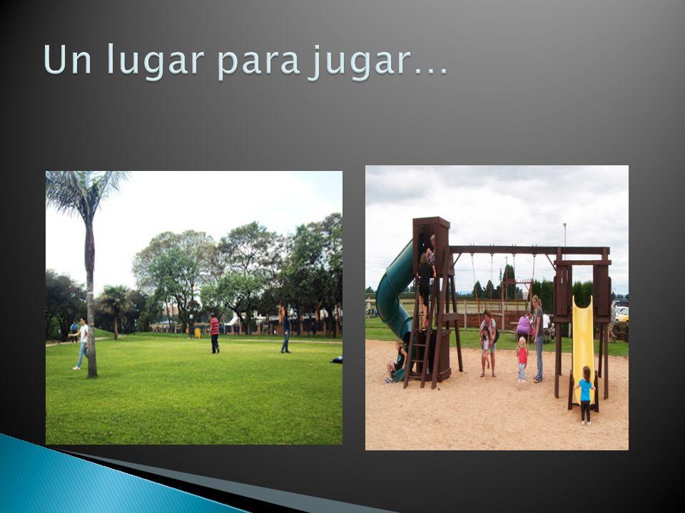 Una comunidad es un lugar en donde la gente juega.