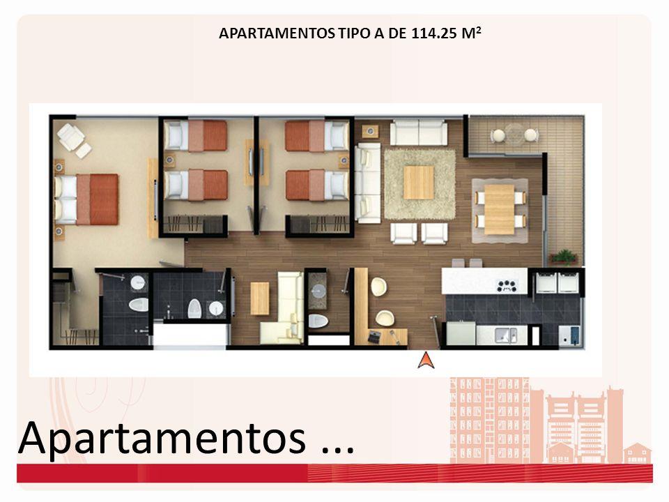 Apartamentos... APARTAMENTOS TIPO A DE 114.25 M 2