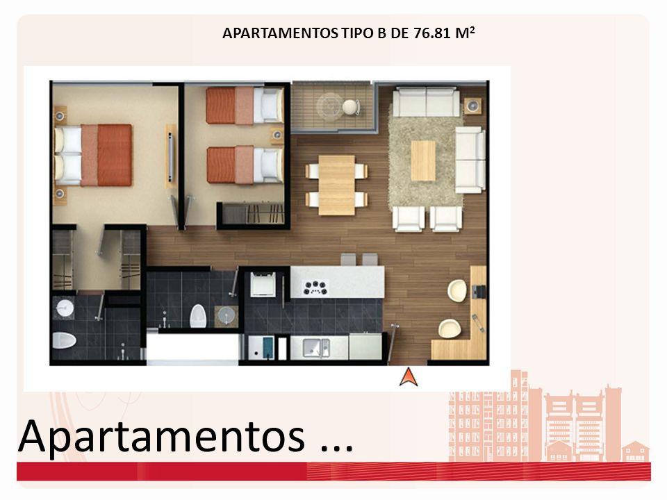 Apartamentos... APARTAMENTOS TIPO B DE 76.81 M 2