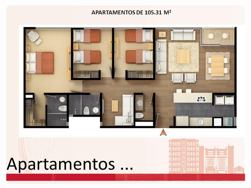 Apartamentos... APARTAMENTOS DE 105.31 M 2