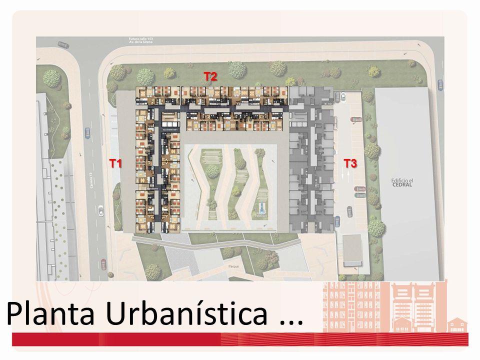 Planta Urbanística... T1 T2 T3