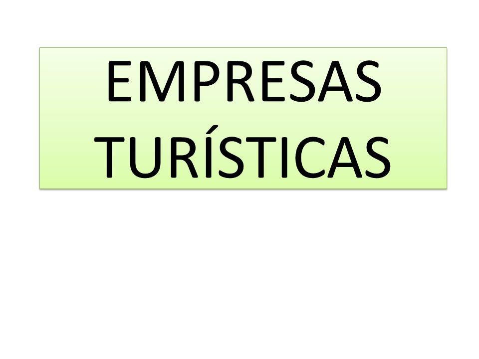 EMPRESAS TURÍSTICAS