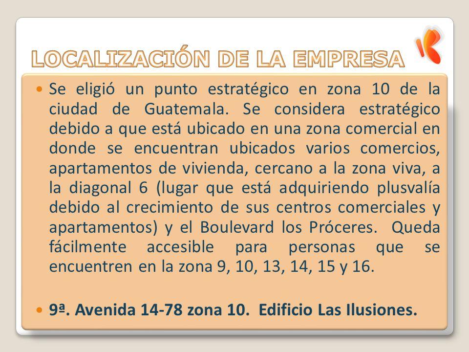 Se eligió un punto estratégico en zona 10 de la ciudad de Guatemala.