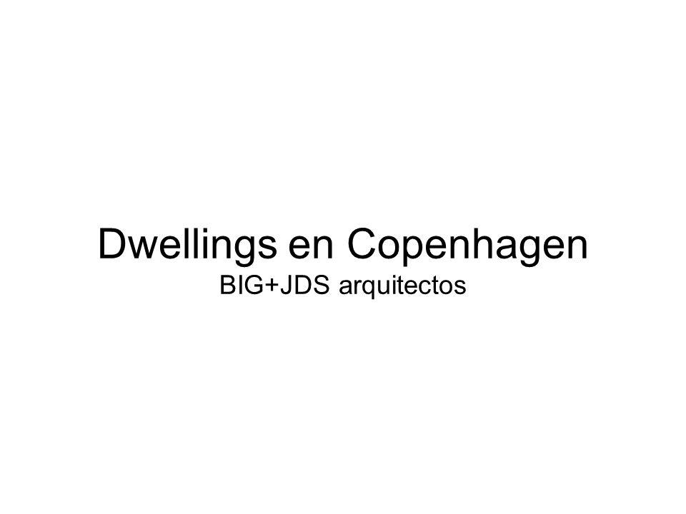 Dwellings en Copenhagen BIG+JDS arquitectos