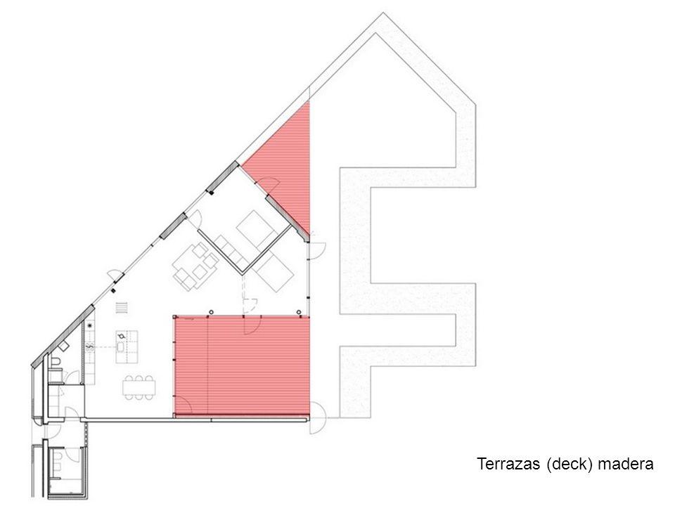 Terrazas (deck) madera