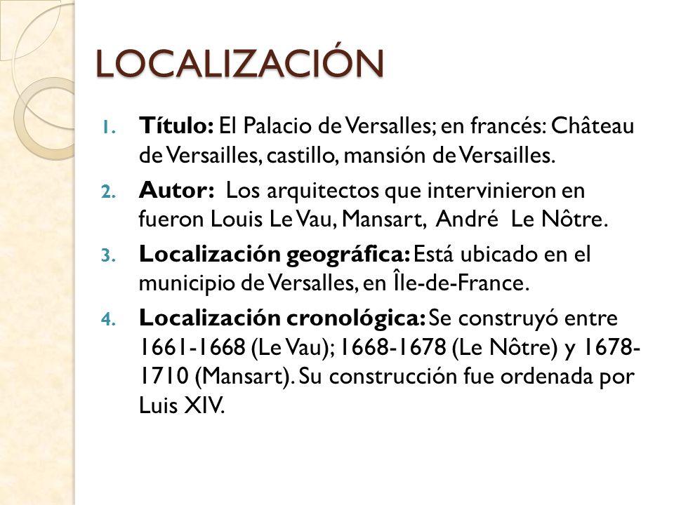 ANÁLISIS FORMAL A.- Elementos materiales y constructivos: El palacio está hecho a base de piedra, mármol y espejos.