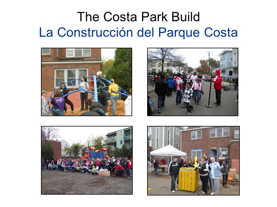 The Costa Park Build La Construcción del Parque Costa