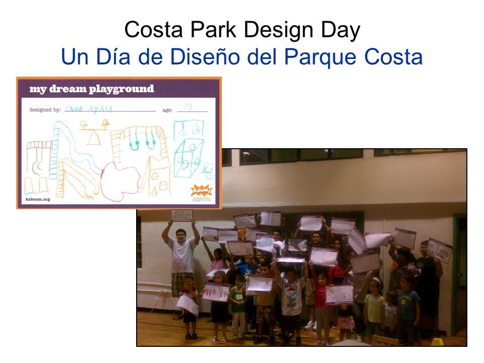Costa Park Design Day Un Día de Diseño del Parque Costa