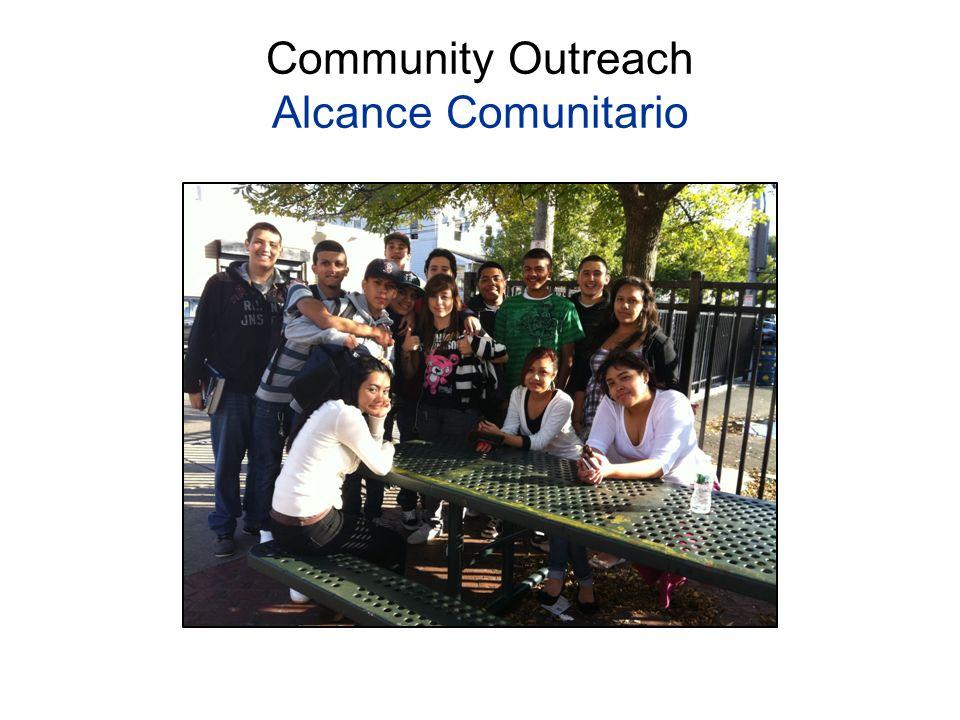 Community Outreach Alcance Comunitario