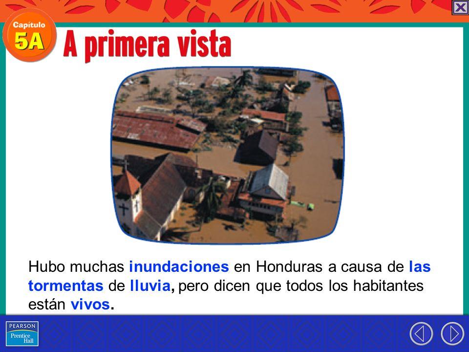Hubo muchas inundaciones en Honduras a causa de las tormentas de lluvia, pero dicen que todos los habitantes están vivos.