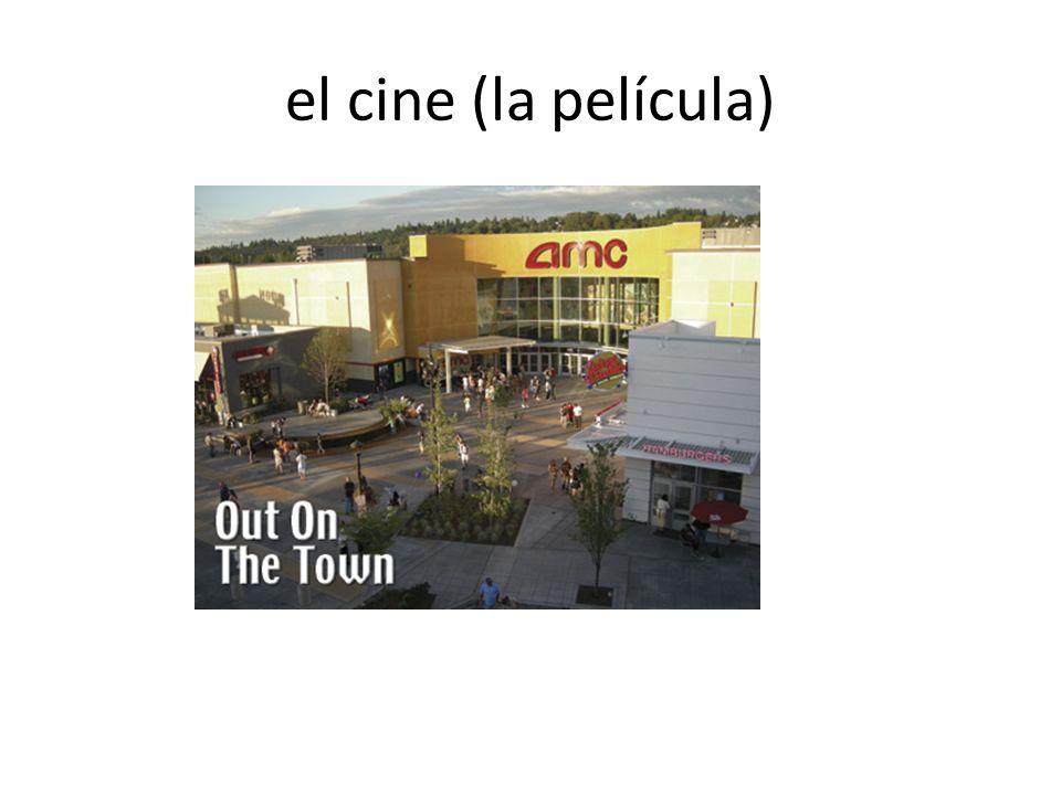el cine (la película)