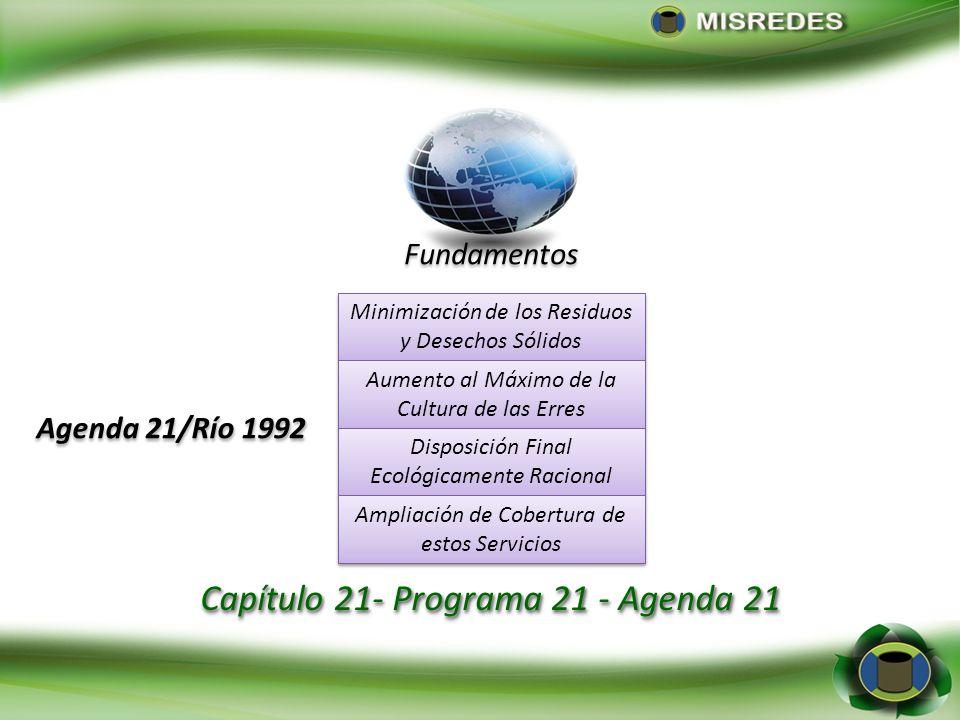 Programa 21: capítulo 19: Gestión Ecológicamente Racional de los Productos Químicos Tóxicos, Incluida la Prevención del Trafico Internacional Programa