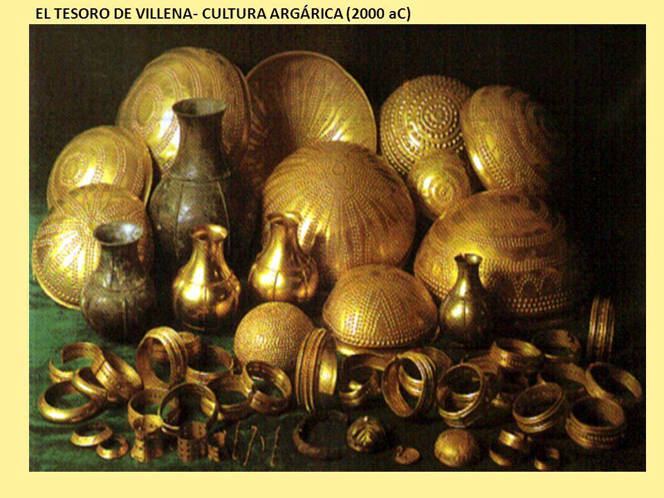 EL TESORO DE VILLENA- CULTURA ARGÁRICA (2000 aC)