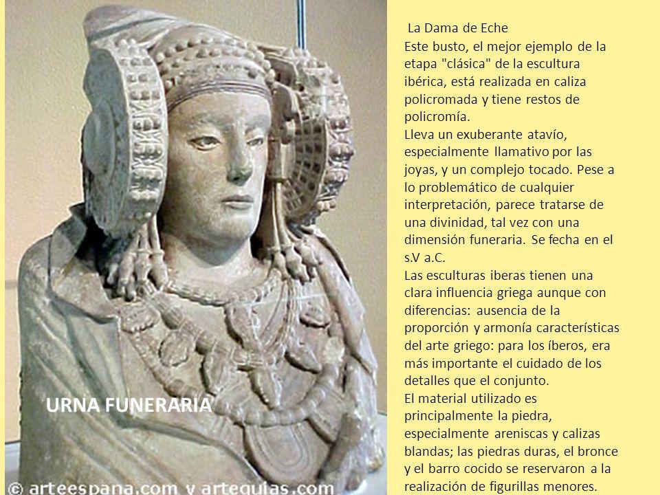 La Dama de Eche Este busto, el mejor ejemplo de la etapa