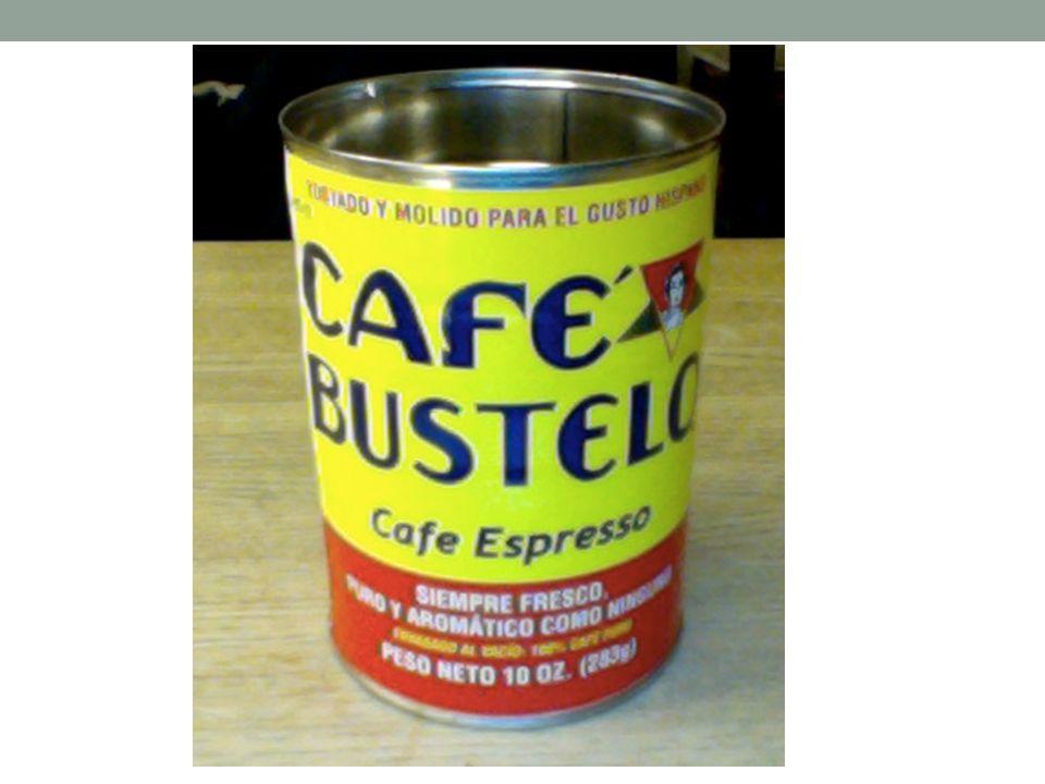 Cartel 4: El Bustelo 1.Este cartel tiene la tema de café.