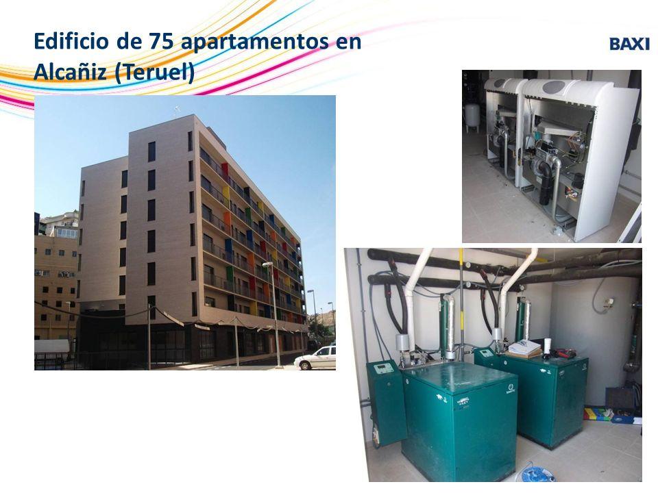 Edificio de 75 apartamentos en Alcañiz (Teruel)