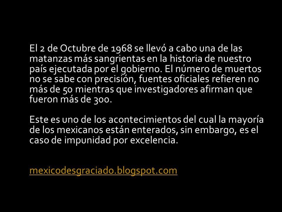 02 DE OCTUBRE DE 1968